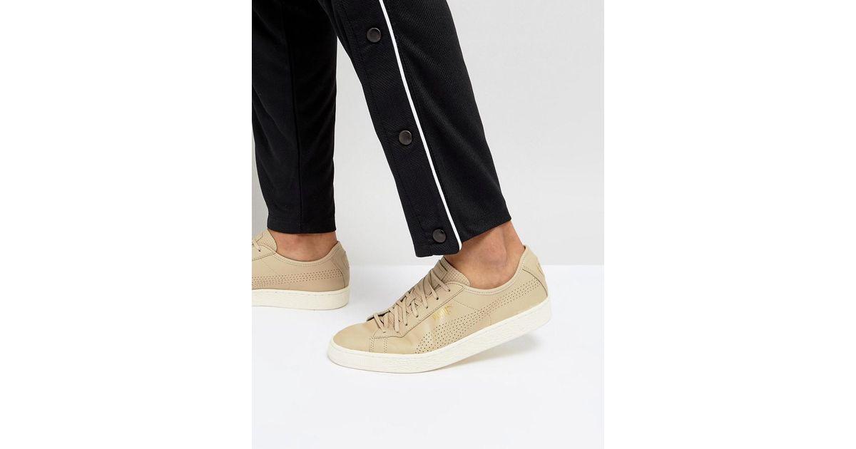 PUMA Leather Select Basket Classic Soft