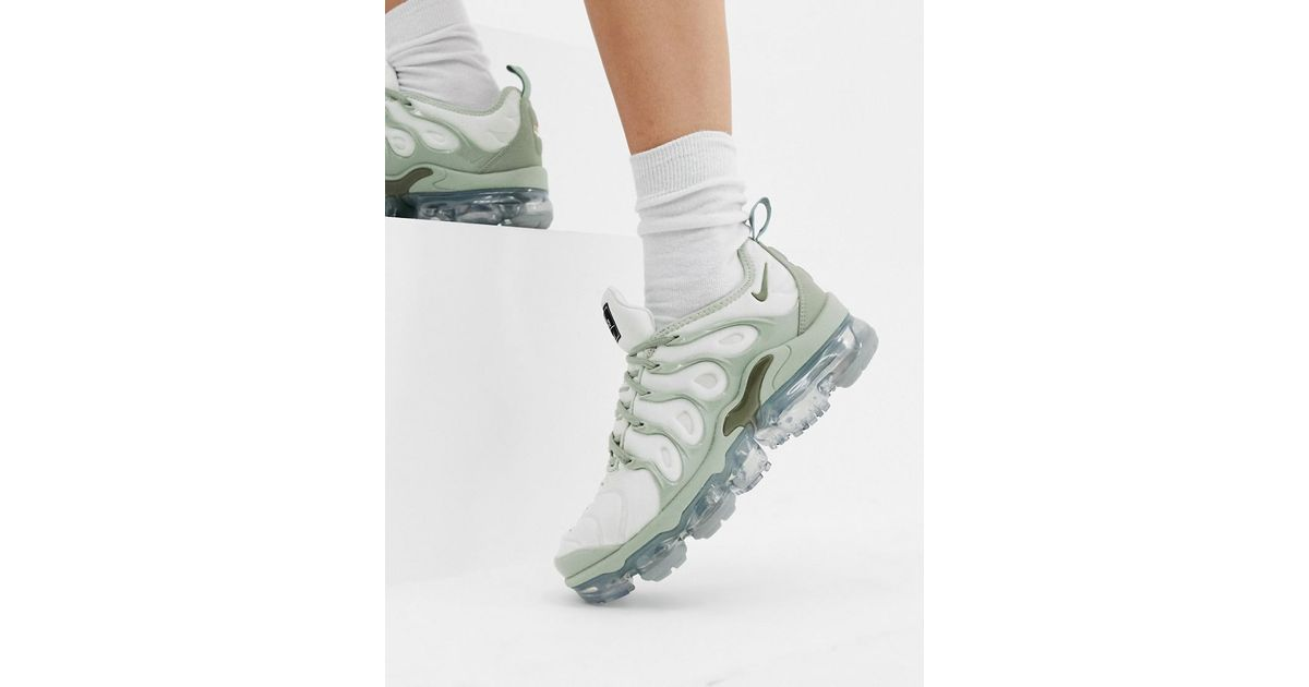 sells super cheap recognized brands Nike Grey Air Vapormax Plus Trainers in Gray - Lyst