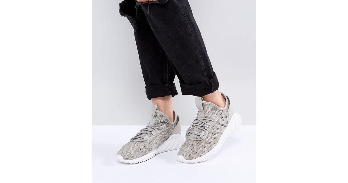 232b21f76c59 Beige Sneakers In Sock Lyst Doom Natural Originals Adidas Tubular KpwKv0gq