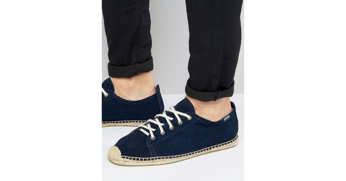 Soludos Suede Lace-Up Sneaker Wxfv8