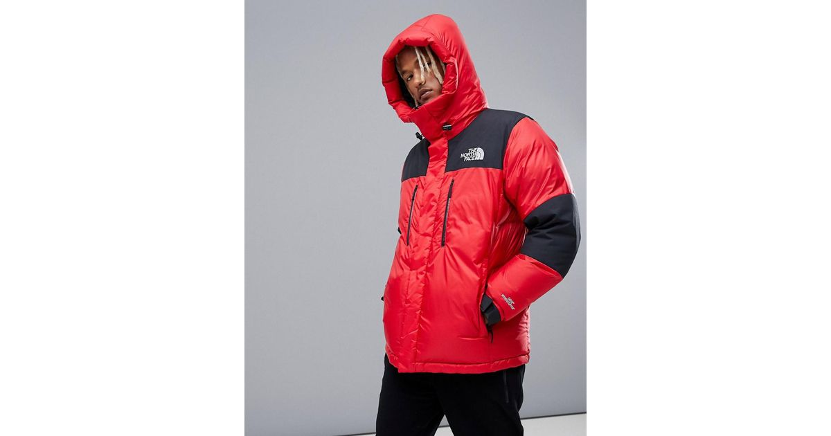 48b7f62e1 The North Face Original Himalayan Gore-tex Windstopper Down In Red for men