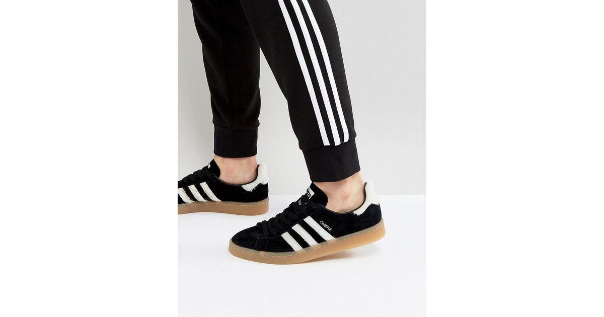 size 40 3b6d3 3ca1b Lyst - adidas Originals Campus Sneakers In Black Bz0071 in B