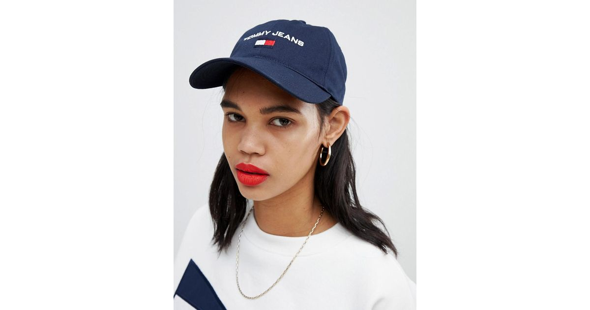 64f78f57 Tommy Hilfiger Tommy Jeans 90s Capsule 5.0 Sailing Cap in Blue - Lyst