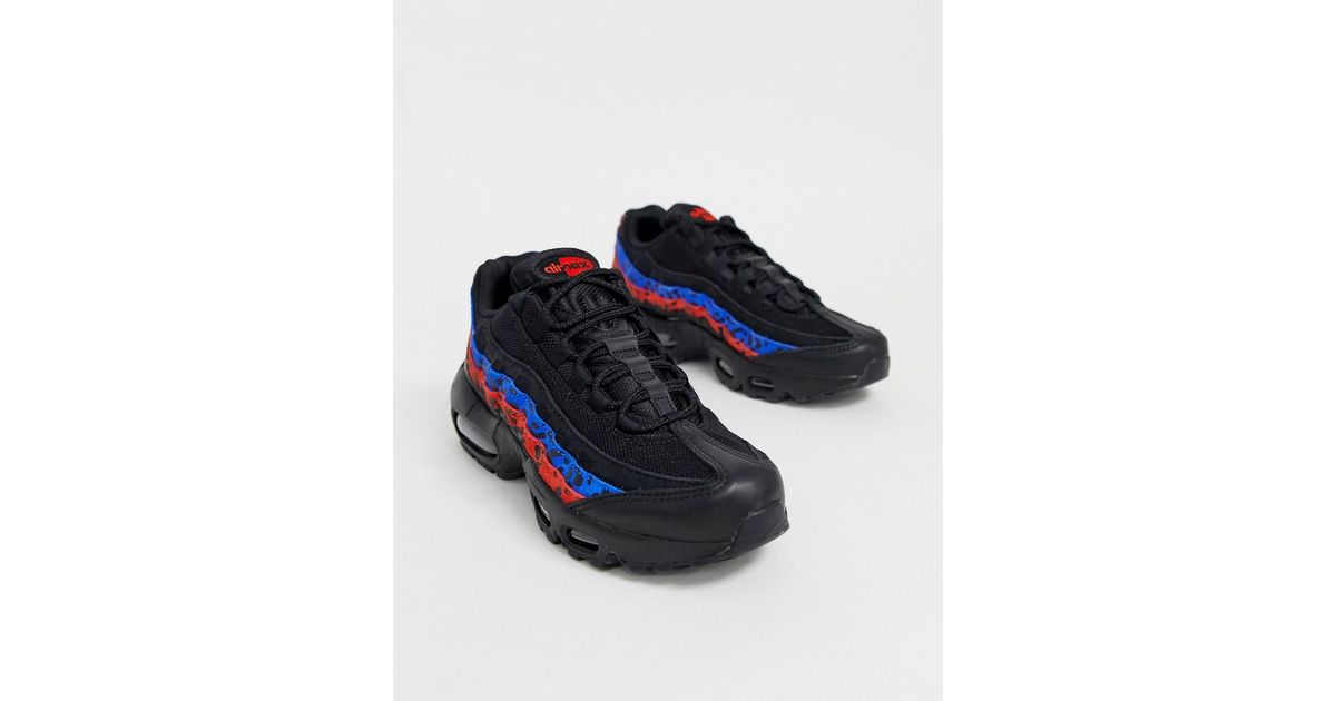 1e8e34dd7962 Nike Multi Animal Print Air Max 95 Sneakers - Lyst