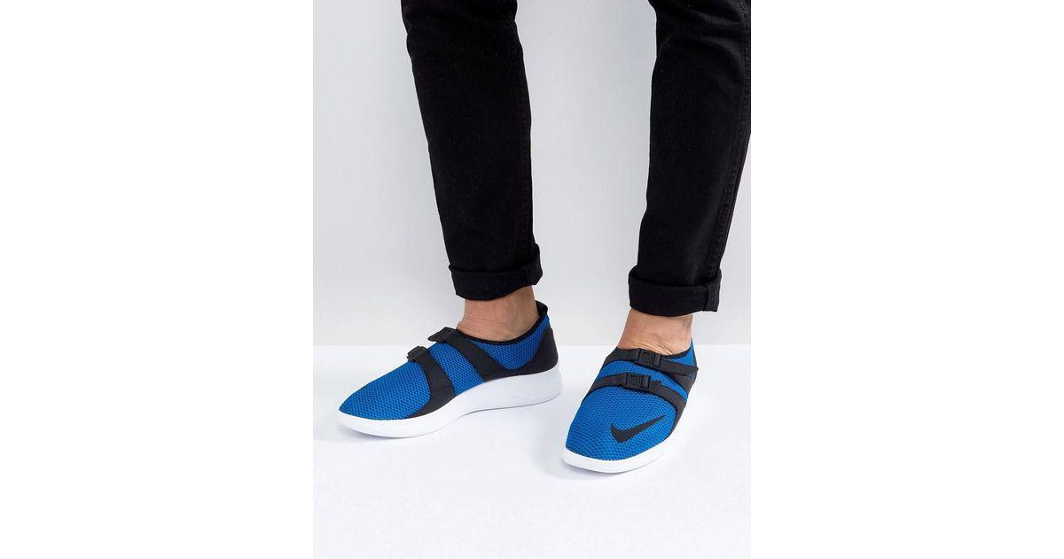 Nike Air Sockracer Formateurs Ultra Soi En Bleu 918244-400 - Bleu 8SQn1G