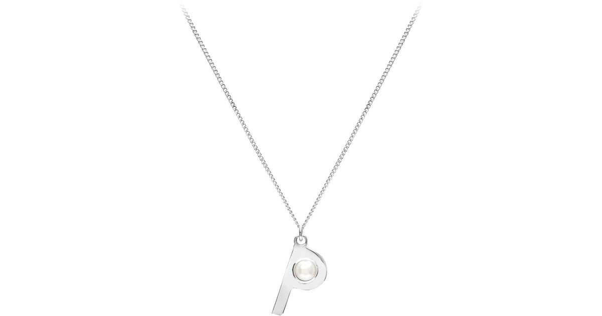 s valentine her c steel gift for products necklace alphabet letter round initial main stainless day pendant
