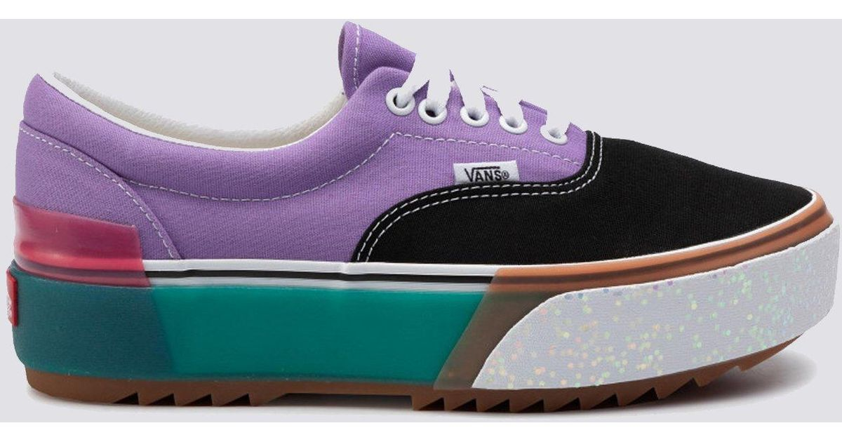 Vans Leather Era Stacked Shoes