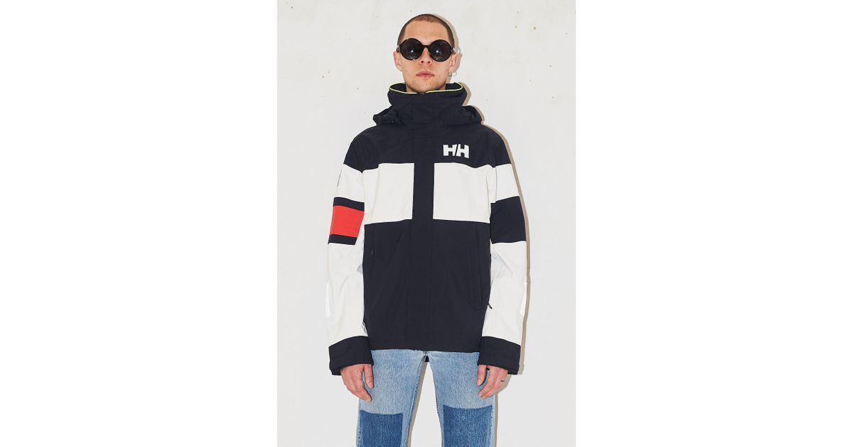 heta produkter nya anländer bästa sneakers Helly Hansen Fleece Waterproof Salt Light Jacket in Blue for Men ...