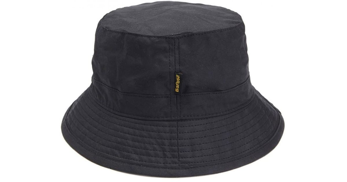 69ff98237c416 Barbour Men s Wax Sports Hat in Black for Men - Lyst
