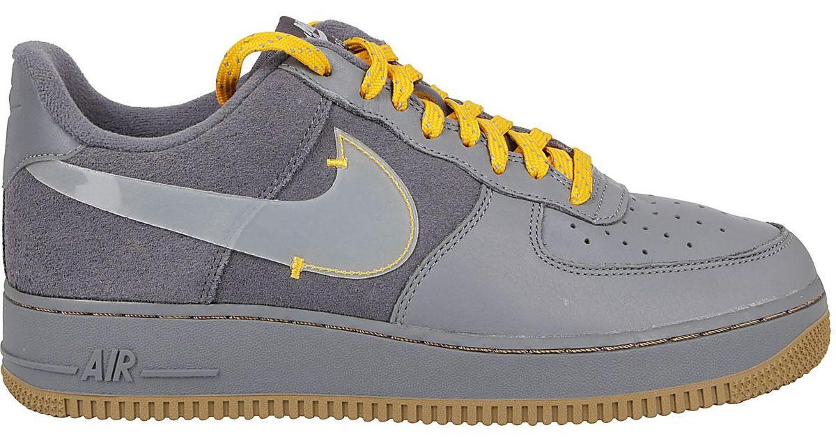 air force 1 grigio scuro