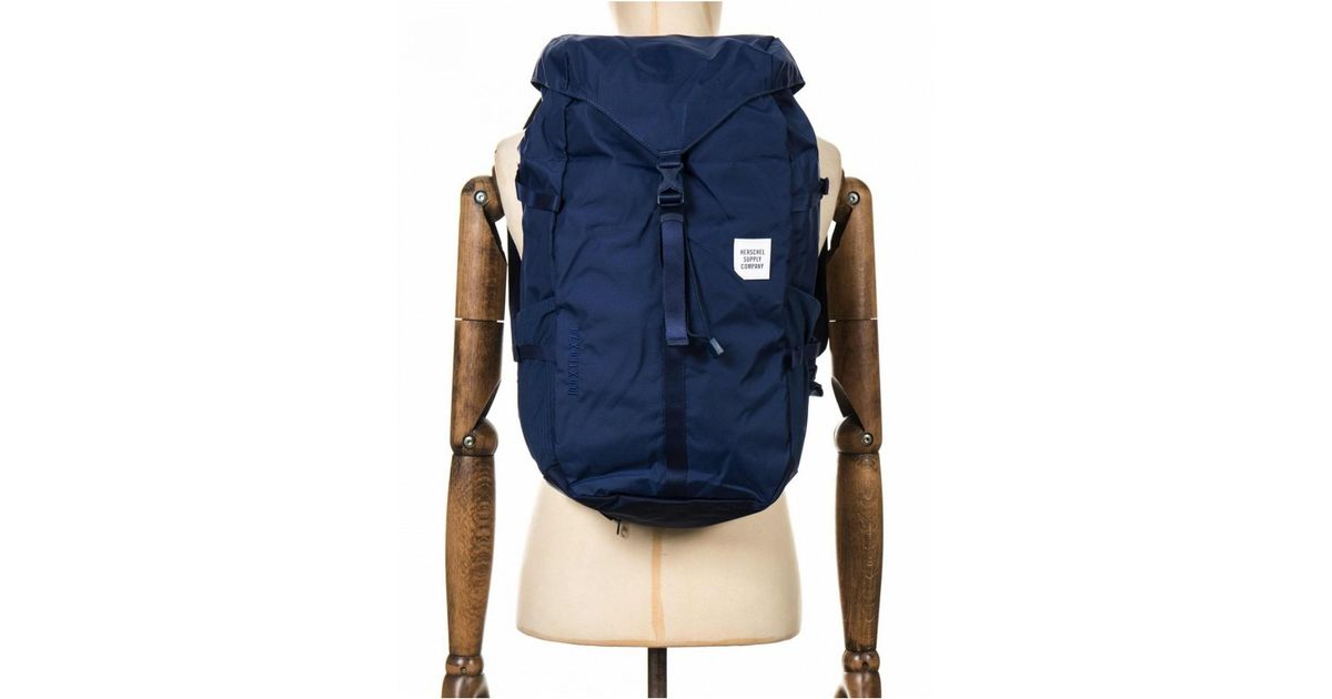 9121534e07e Lyst - Herschel Supply Co. Supply Co Barlow Trail Backpack Large 27l in Blue  for Men