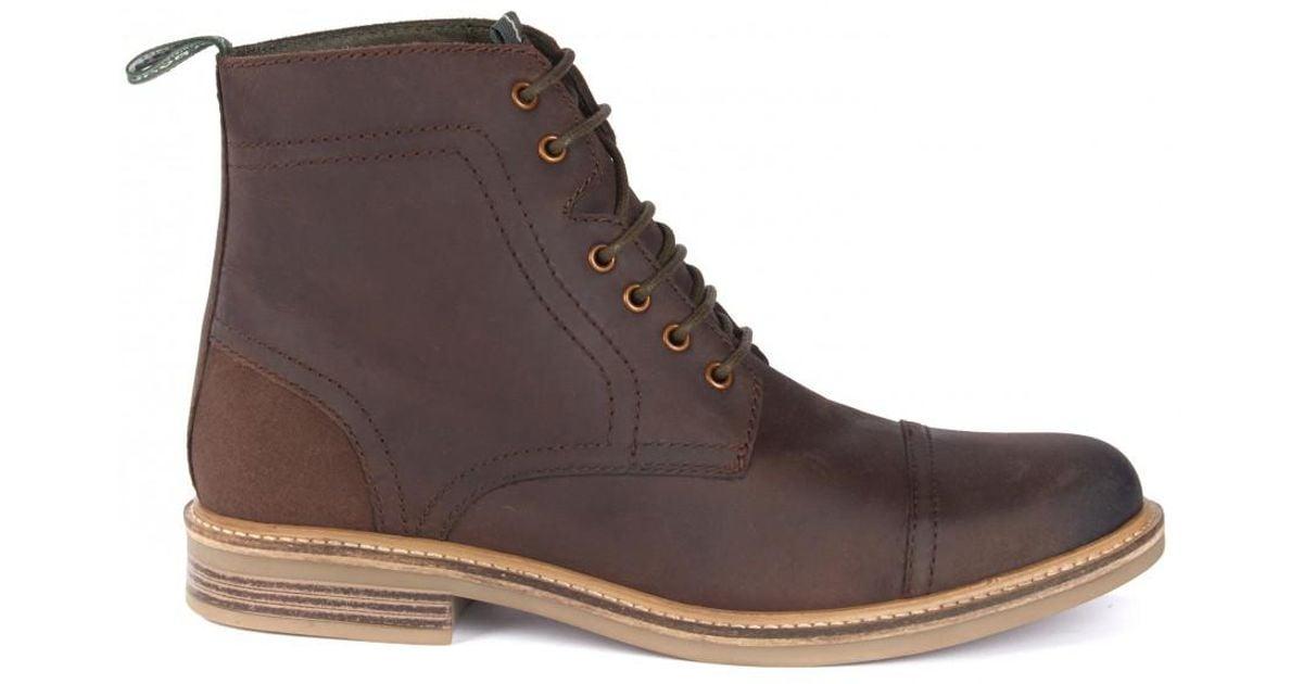 c2edcf06fb8 Barbour Brown Dalton Boots for men