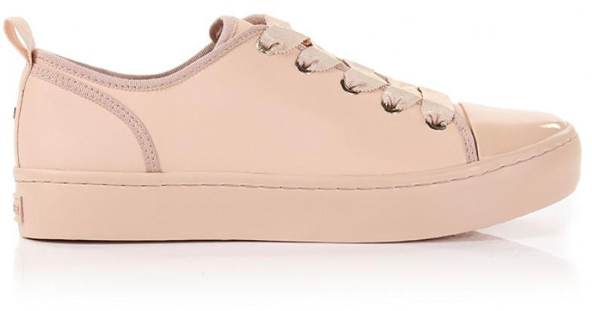 Tommy Hilfiger Leather Womens Pink