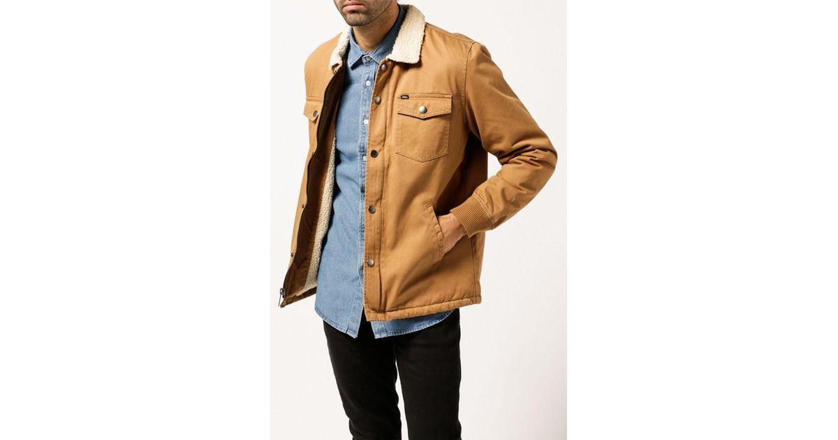 026f89263 Lyst - Obey Colton Jacket for Men