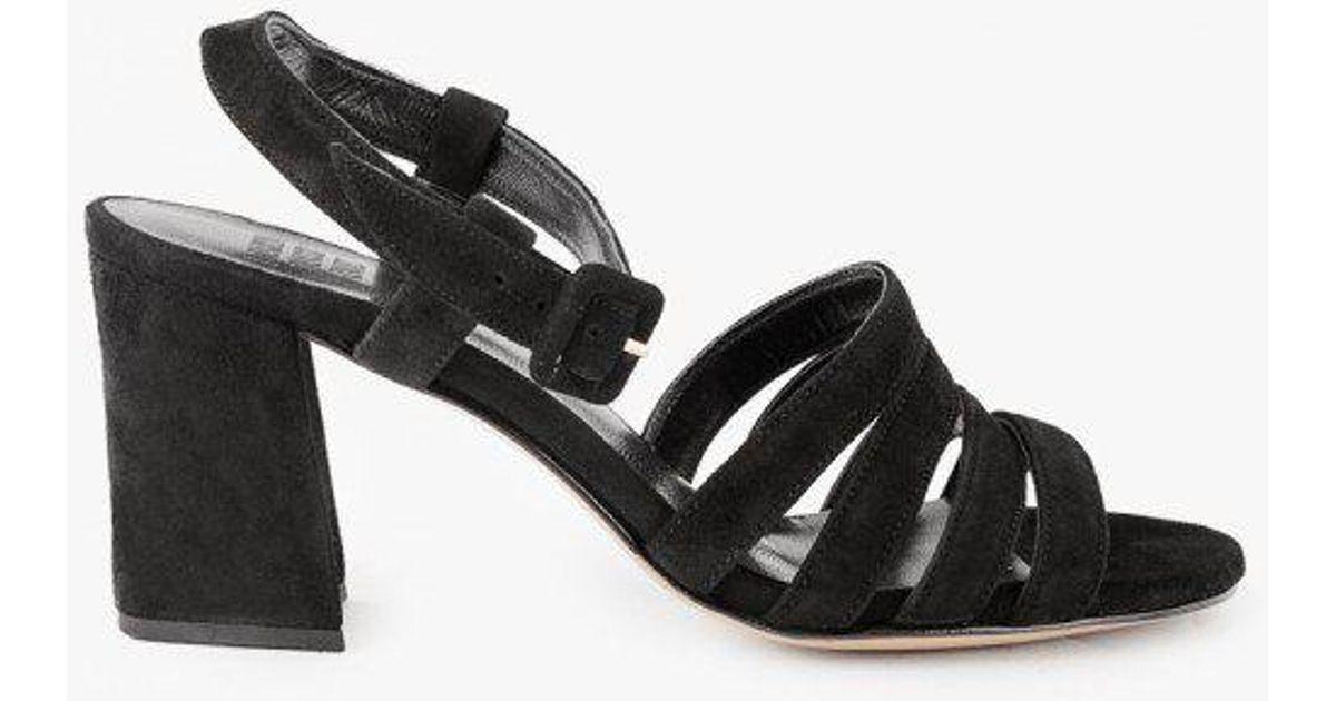 9b6092488 Lyst - Maryam Nassir Zadeh Palma High Sandal in Black