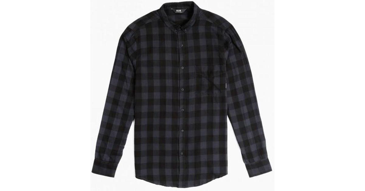 0f070ee186 Neuw Bob Shirt in Gray for Men - Lyst