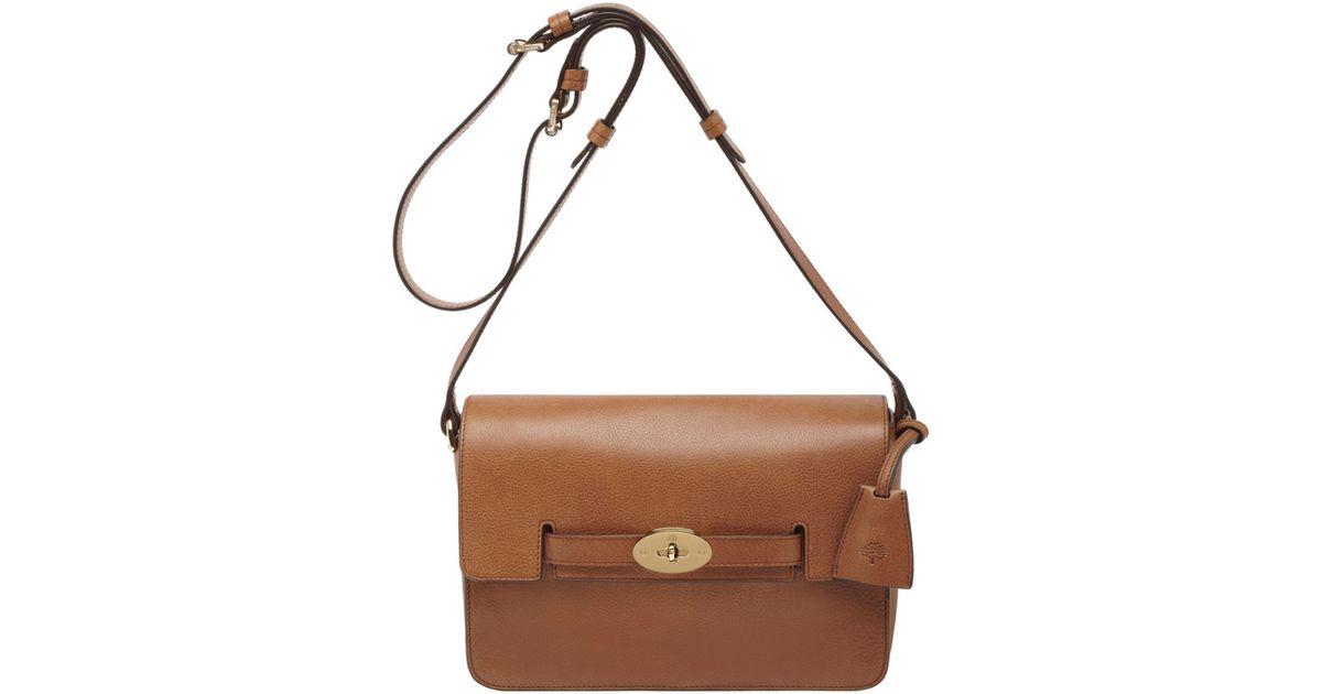 ffeba434b4 ... aliexpress lyst mulberry oak bayswater shoulder bag in brown 2453c 8e3d3