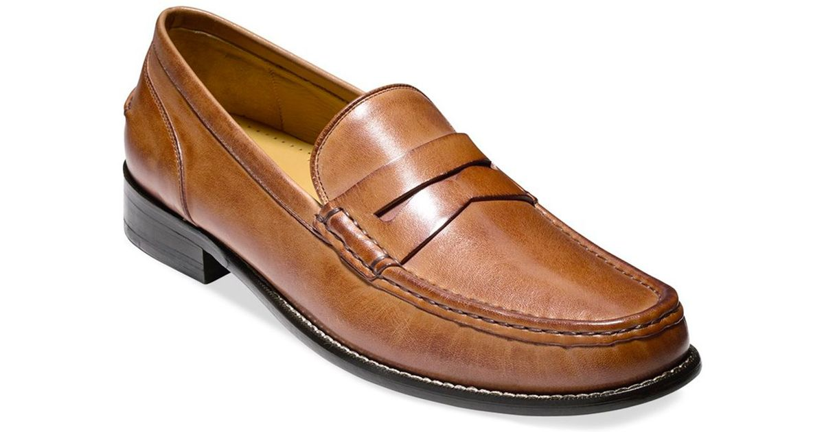 b26d4f62ad0 Lyst - Cole Haan Britton Penny Loafers in Brown for Men