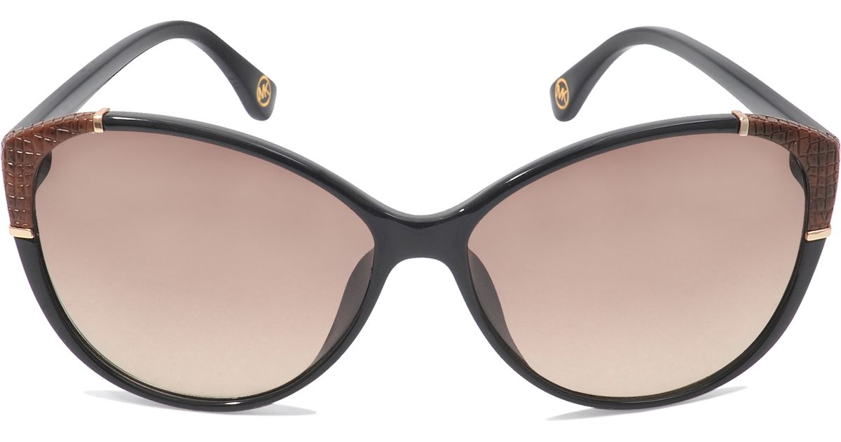 be89335bc31f Michael Kors Paige Sunglasses in Brown - Lyst