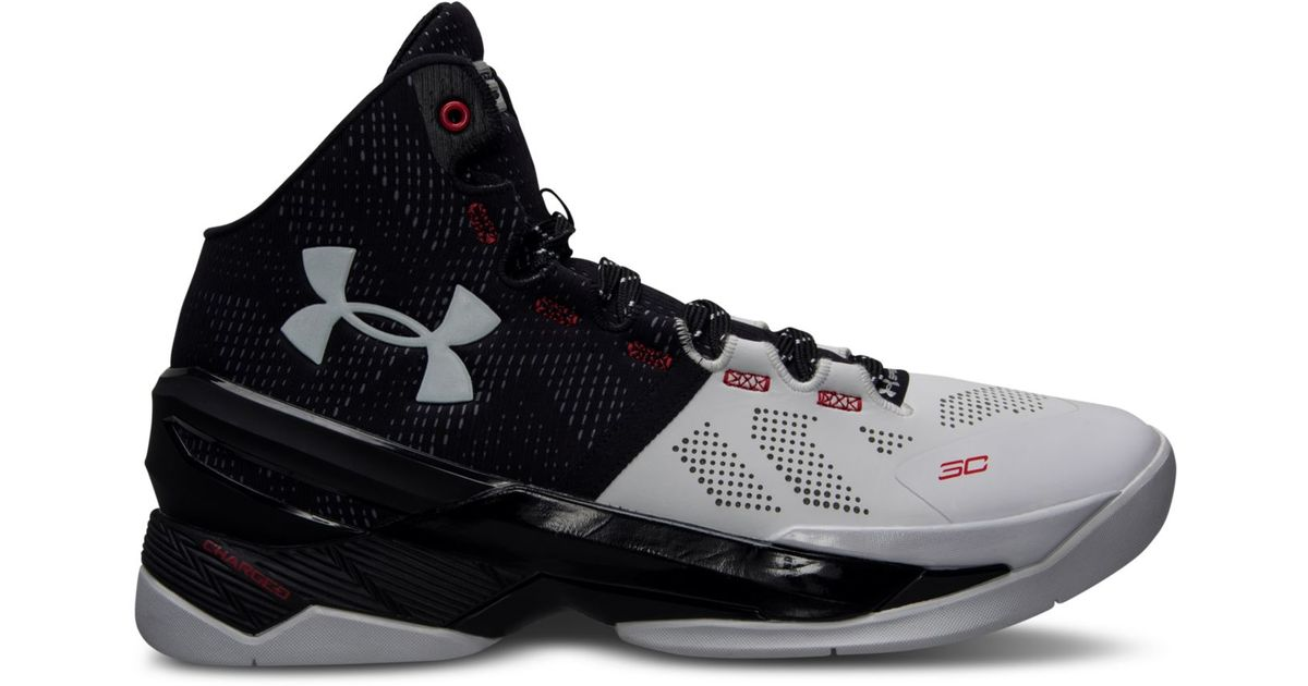 super popular 0f980 55446 Under Armour Black Men's Curry Two Basketball Sneakers From Finish Line for  men