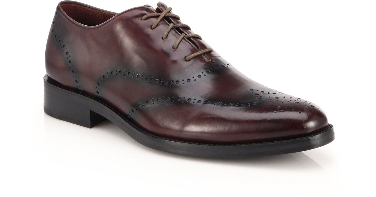 Cole Haan Leather Preston Wholecut