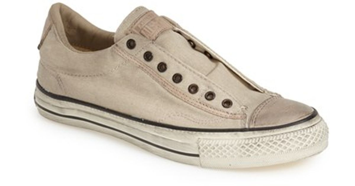 8fa8e989beee Lyst - Converse Chuck Taylor All Star Laceless Sneaker in Natural for Men