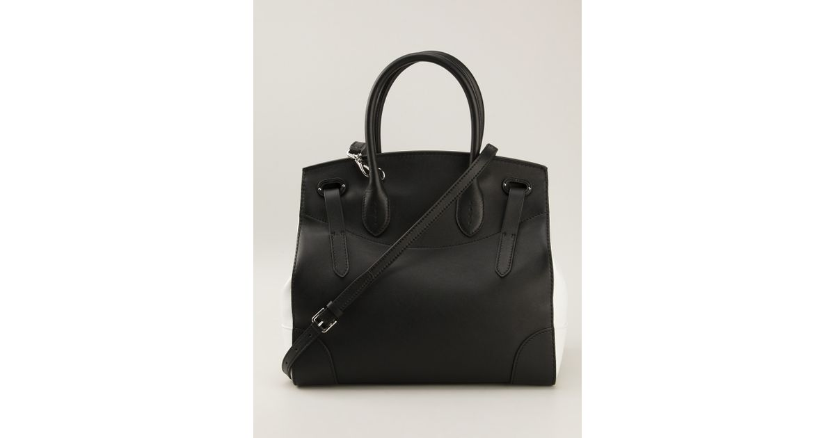 e620d7598a65 Lyst - Ralph Lauren Black Label Ricky Tote in Black