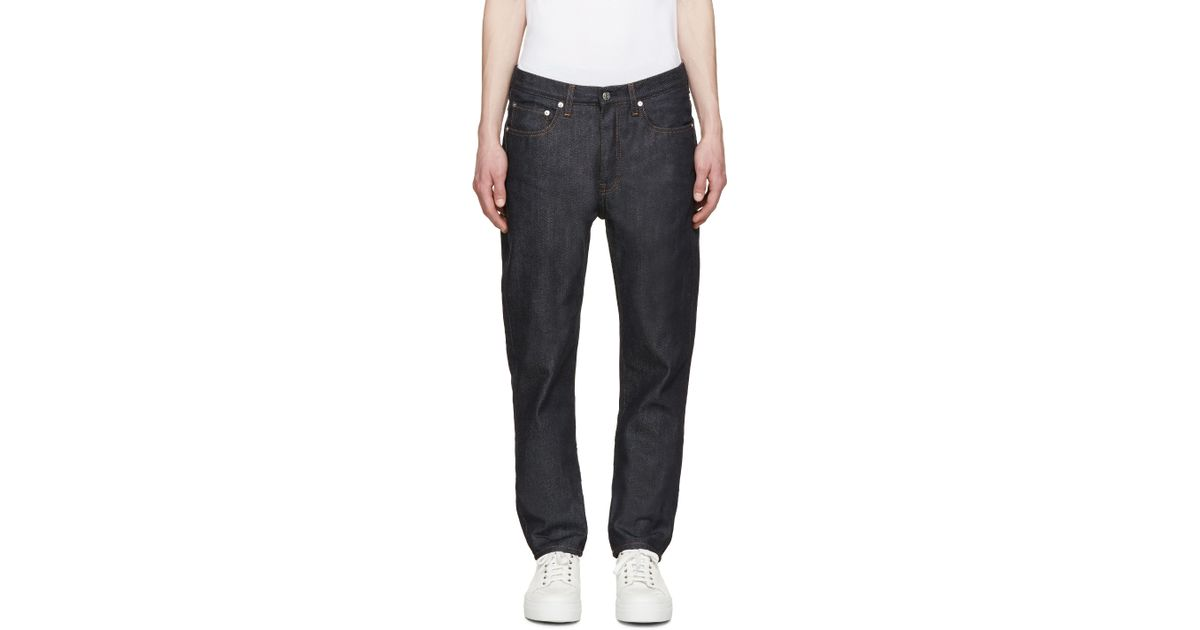bca6bab88b39 Lyst - Acne Studios Indigo Van Jeans in Blue for Men