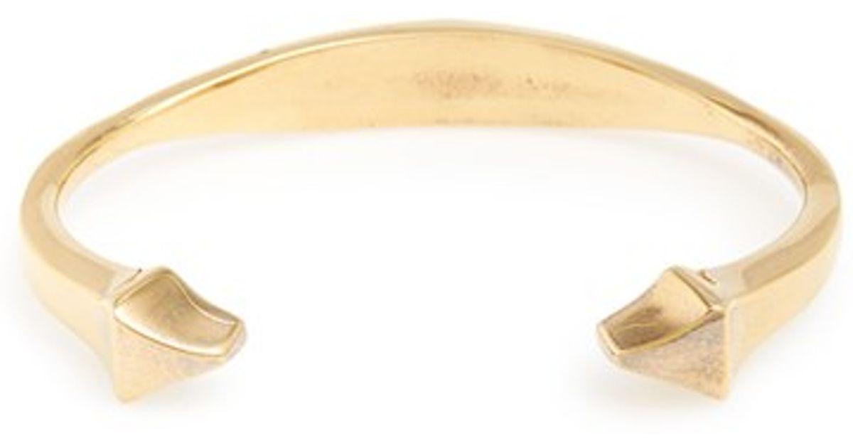 Cuff Bracelet In Gold
