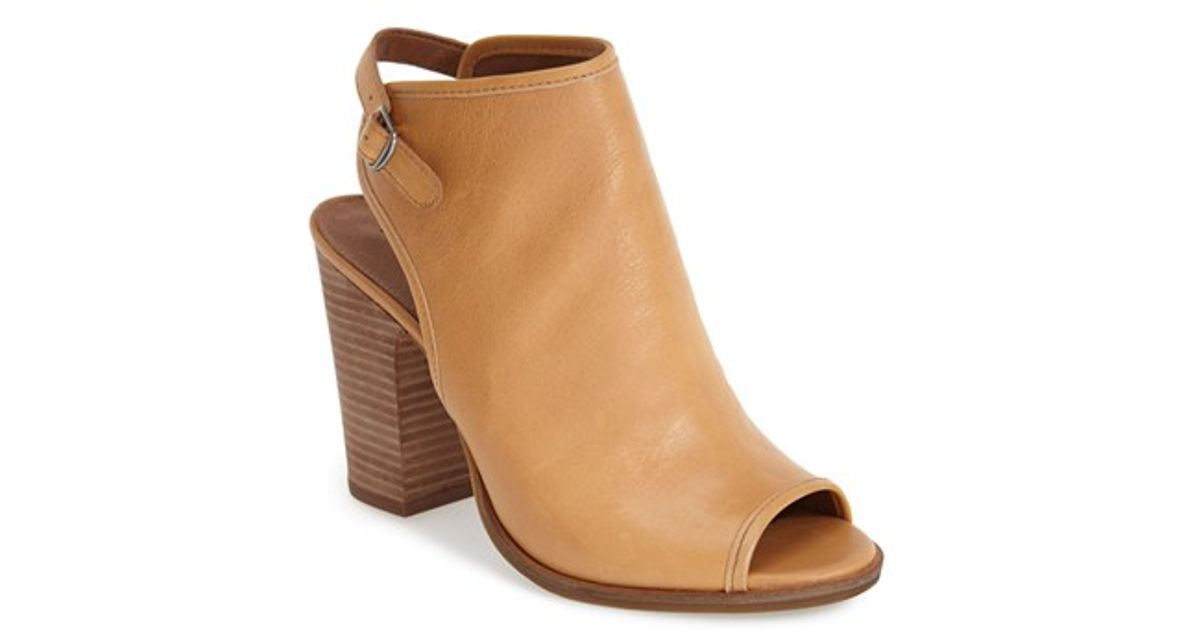 Lucky Brand 'Lisza' Open Toe Bootie in