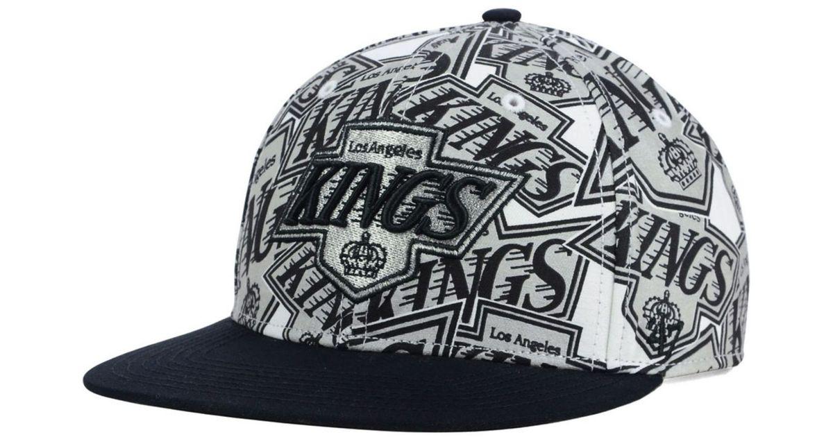 3c7d36ead9887 Lyst - 47 Brand Los Angeles Kings Bravado Snapback Cap in Black for Men
