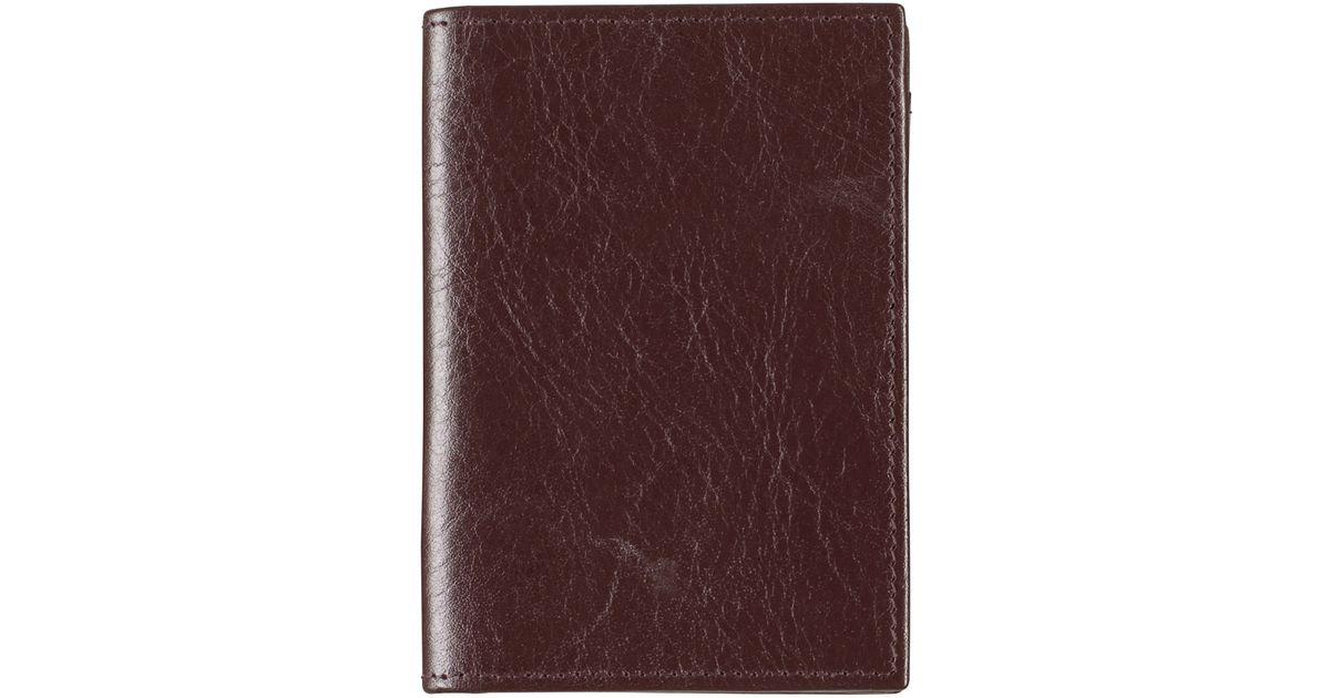 061d793b0f5 Lyst - Johnston   Murphy Full Gusset Card Case in Brown for Men