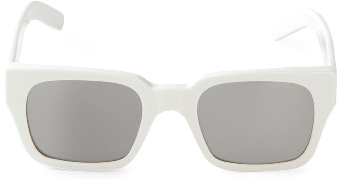 black and gold aviator sunglasses  Marni Geometric Sunglasses