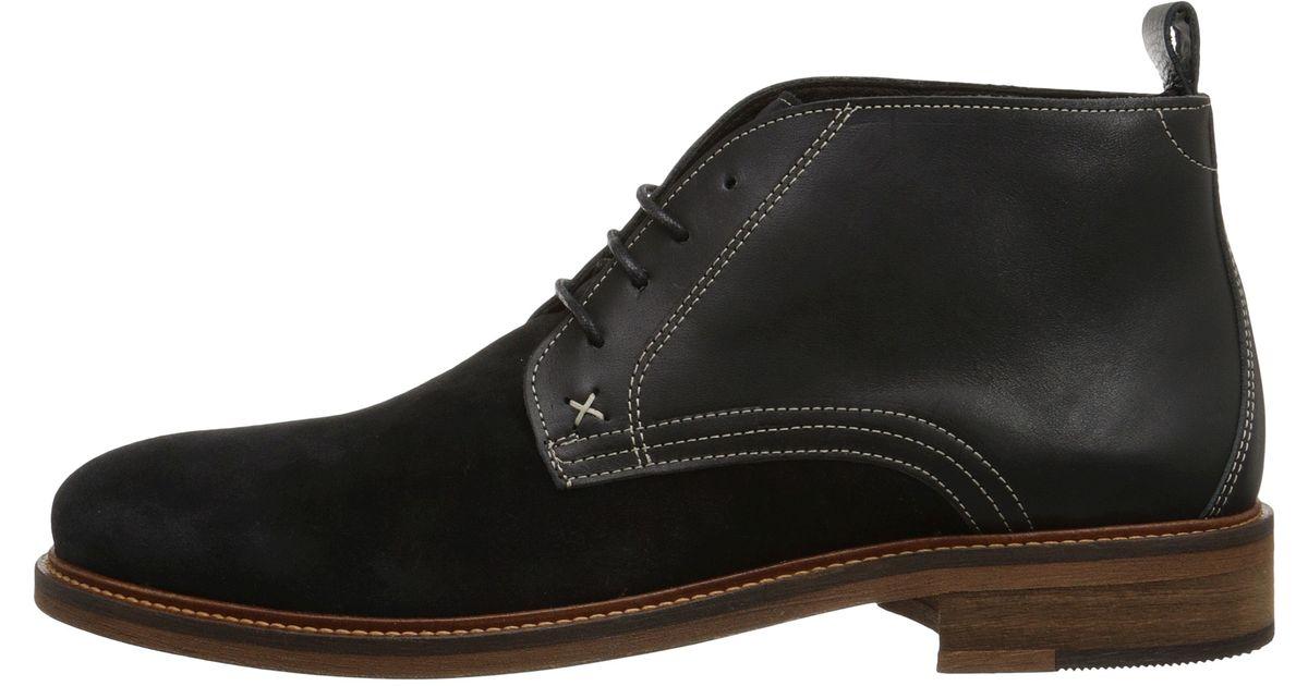 afbf9644031 Wolverine Black Hensel Desert Boot for men