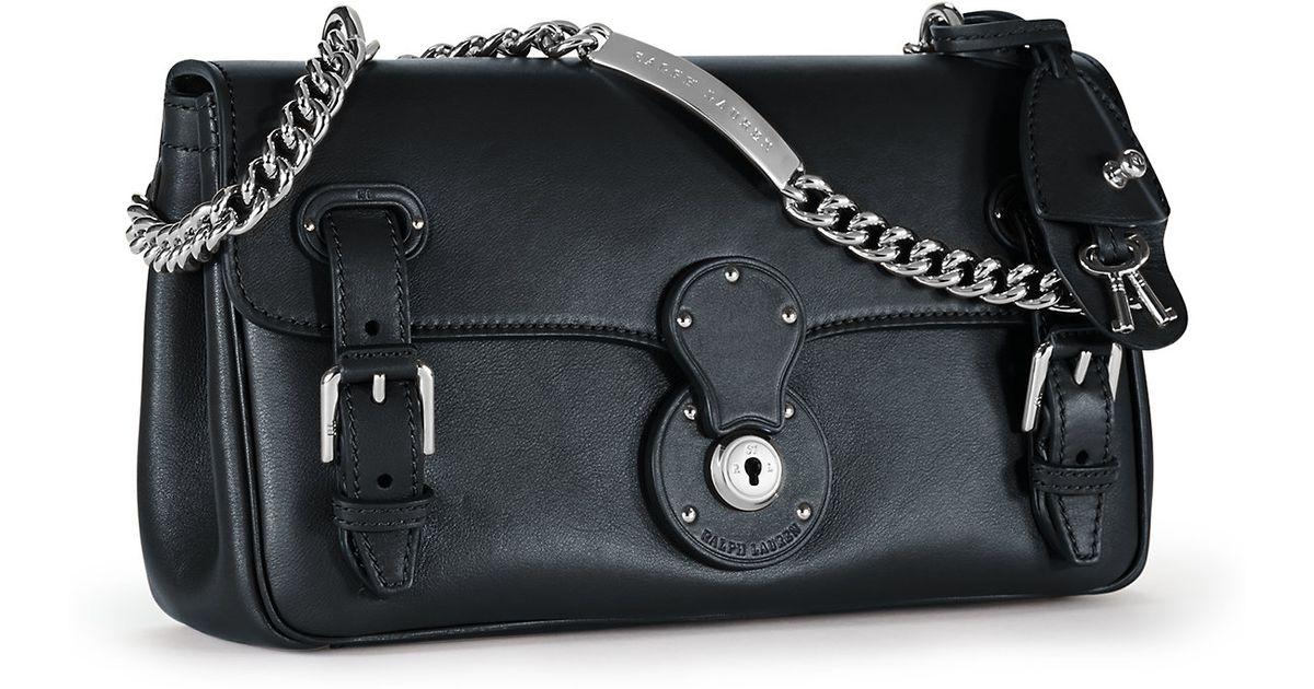 1c841fc7dc Lyst - Ralph Lauren Ricky Id Chain Bag in Black