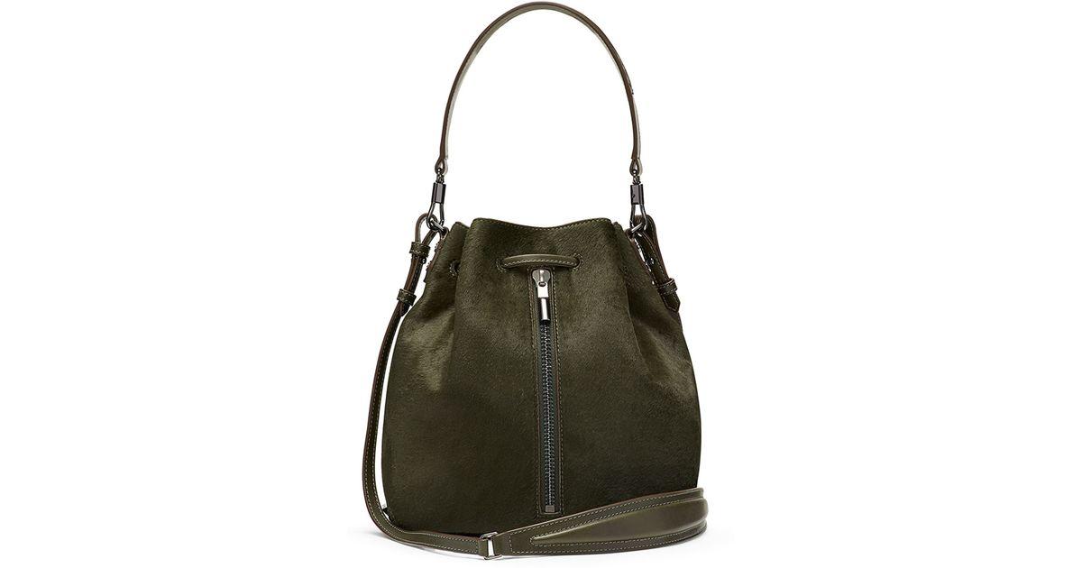 faaa7b3120da8b Elizabeth and James Cynnie Bucket Bag - Deep Olive in Green - Lyst