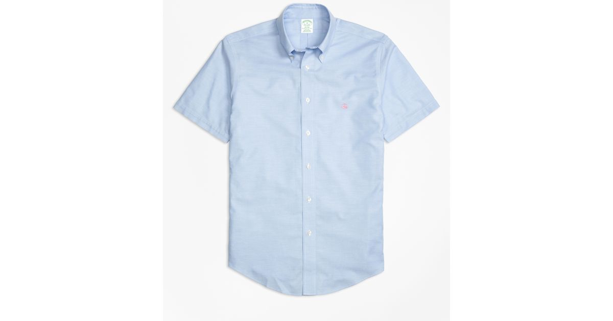 Brooks brothers non iron brookscool milano fit short for Brooks brothers non iron shirts review