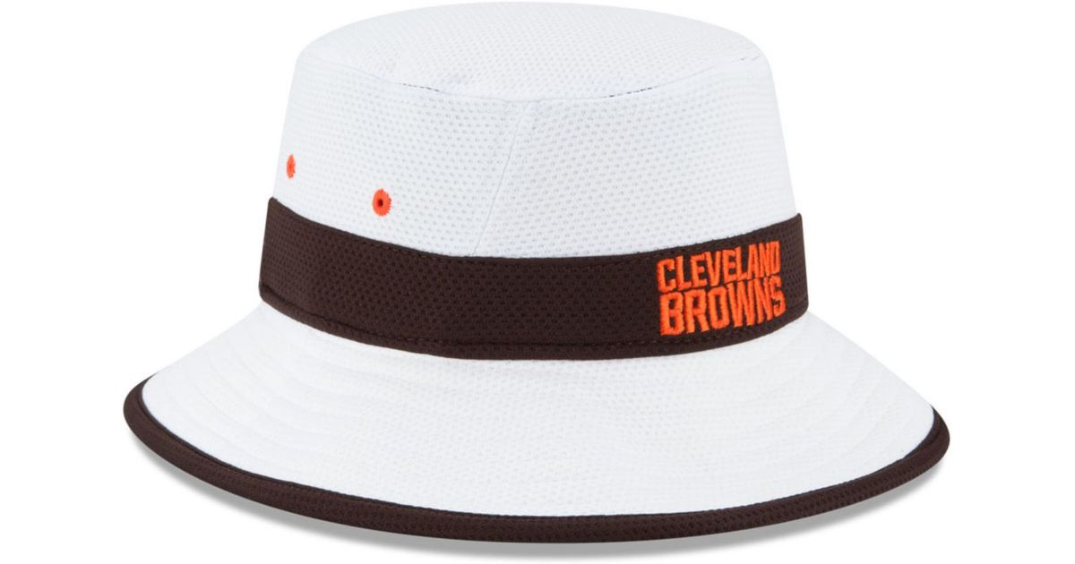 best loved c42f1 11fb2 KTZ Cleveland Browns Training Camp Official Bucket Hat in Black for Men -  Lyst