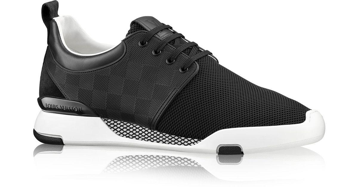 Louis Vuitton Fastlane Sneaker In Black For Men Lyst