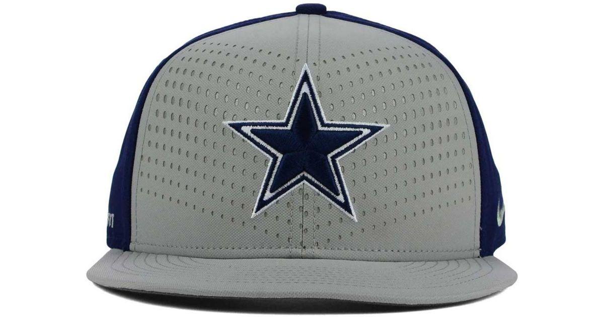 e2e3c7a0 Nike Dallas Cowboys Gameday True Snapback Cap in Gray for Men - Lyst