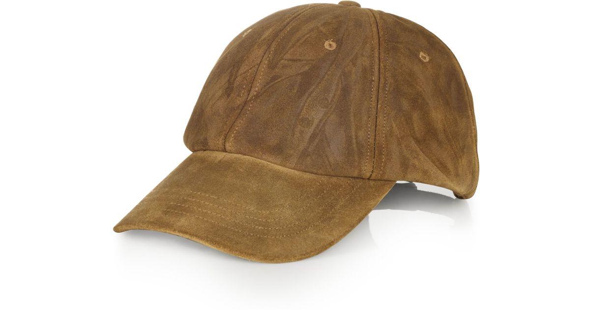 NWT RALPH LAUREN Men/'s Navy Wool Leather Brim POLO Logo Adjustable Baseball Hat