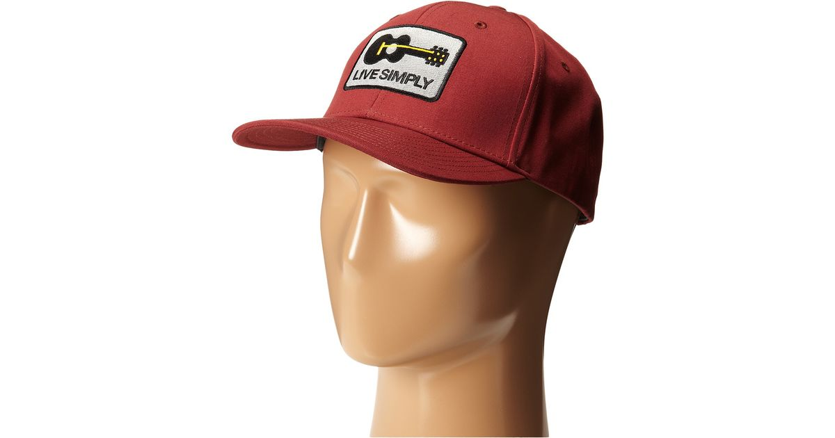 5306a7fc6 Patagonia Red Live Simply Guitar Roger That Hat