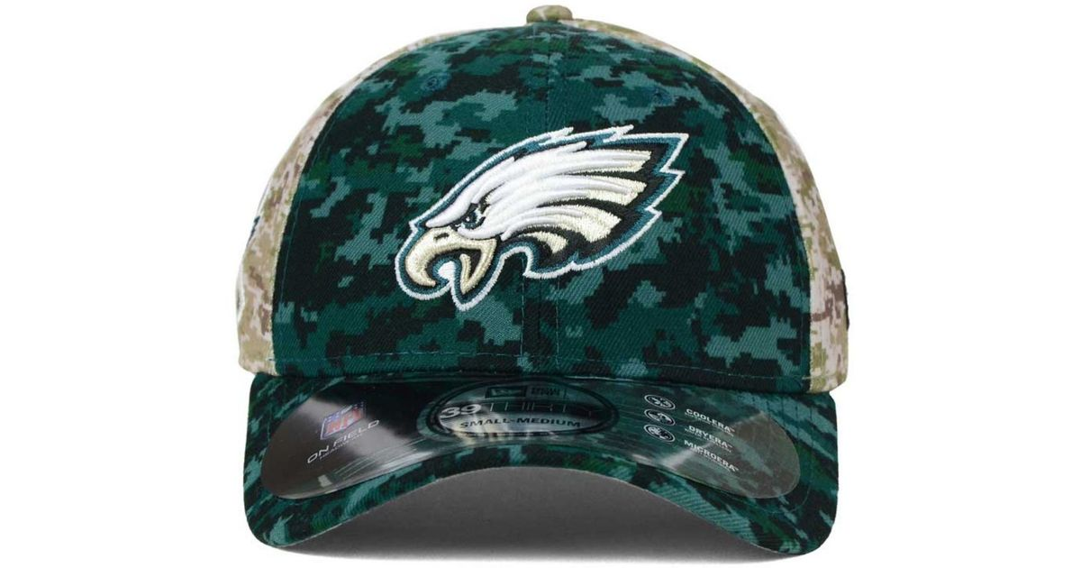 Lyst - KTZ Philadelphia Eagles Salute To Service 39thirty Cap in Green for  Men f1c5c6dd5b3