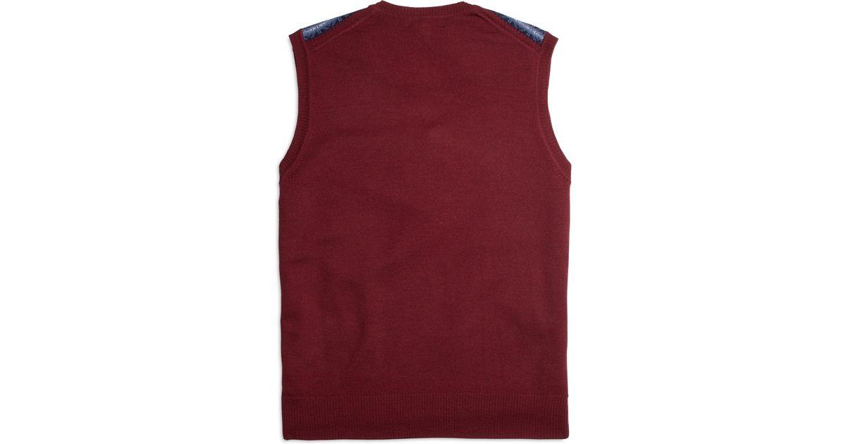 Brooks brothers Merino Wool Fair Isle Sweater Vest for Men | Lyst