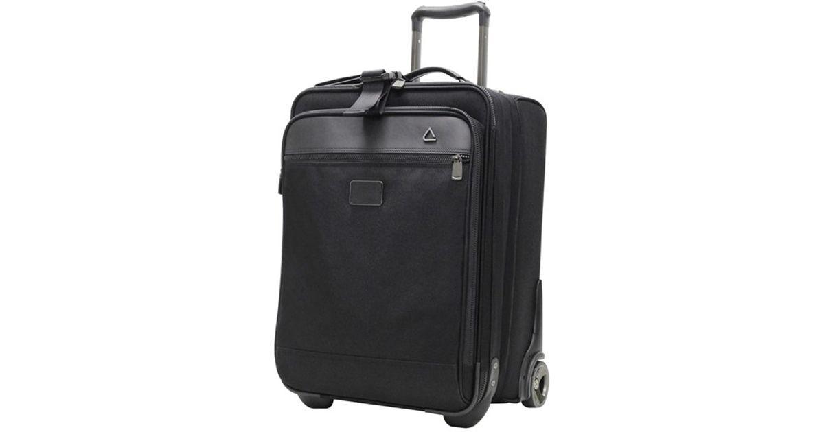 688facae355a Andiamo Black Luggage 'avanti Collection' Auto Expand Wheeled Suitcase With  Garment Bag