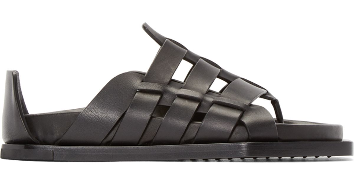 Inexpensive online Rick Owens strappy sandals from china free shipping low price really cheap shoes online 4jDDNr