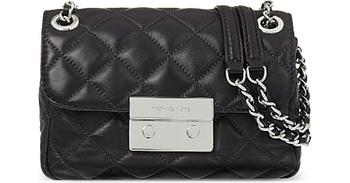 b28f118787c3 MICHAEL Michael Kors Sloan Small Quilted Leather Shoulder Bag - Lyst