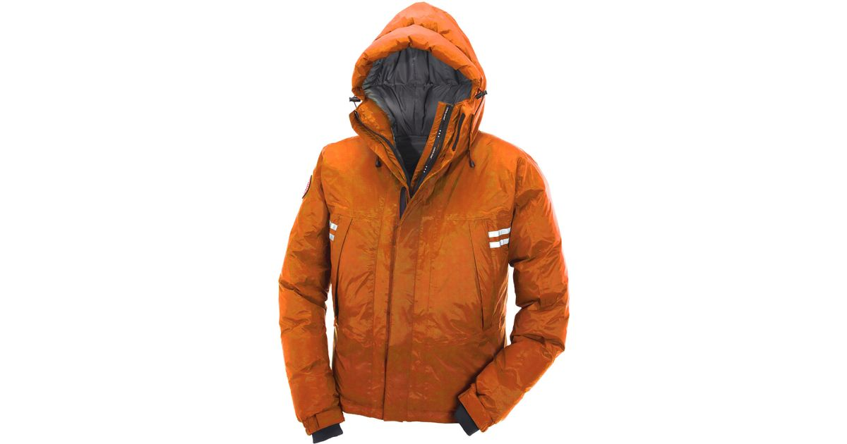 Canada Goose montebello parka replica authentic - Canada goose Mountaineer Jacket in Orange for Men (Sunset Orange ...