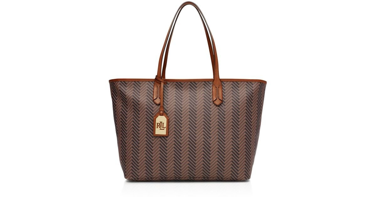 Lyst - Pink Pony Lauren Boswell Classic Tote in Brown 061863d5e48a5