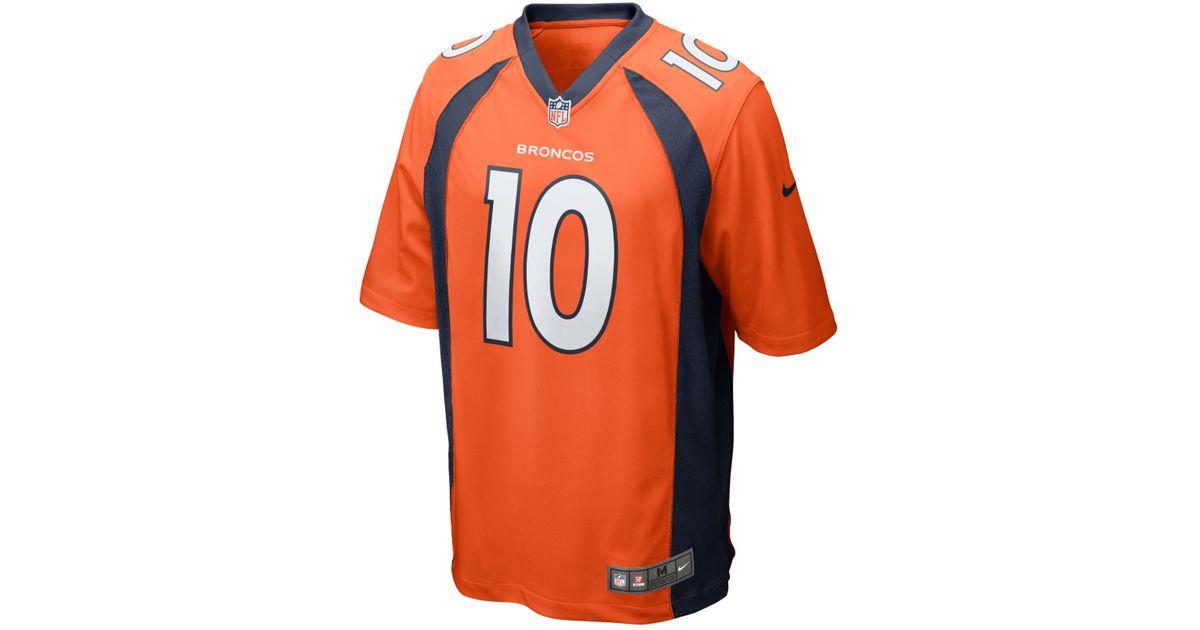 Mens Denver Broncos Emmanuel Sanders Nike Game Jersey